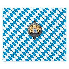 Oktoberfest, Bavaria Beer Mug King Duvet