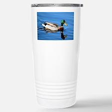 Mallard Duck Stainless Steel Travel Mug