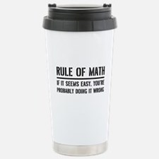 Rule of math Travel Mug