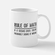 Rule of math Mugs