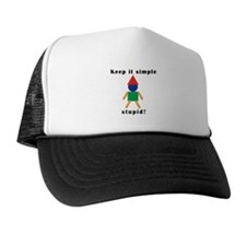 Funny Plain and simple Trucker Hat