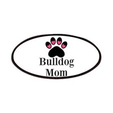 Bulldog Mom Patches