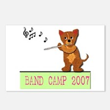 Band Camp Flute Postcards (Package of 8)