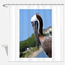 Pelican Smiling Shower Curtain