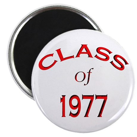 """""""Class of 1977"""" 2.25"""" Magnet (10 pack)"""