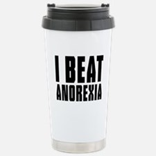 I beat anorexia Travel Mug