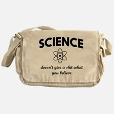 Science doesn't give a Messenger Bag