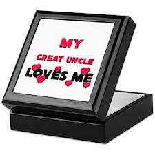 My GREAT UNCLE Loves Me Keepsake Box