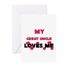My GREAT UNCLE Loves Me Greeting Cards (Package of