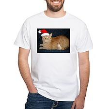 Christmas Orange Tabby Cat Shirt