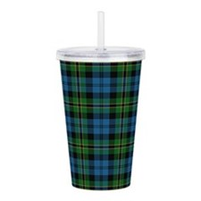 Polaris Tartan Acrylic Double-wall Tumbler