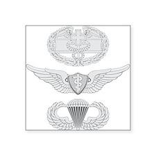 "CFMB Flight Surgeon Airborne Square Sticker 3"" x 3"