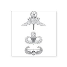 HALO Jumpmaster Master Airborne Air Assault Square