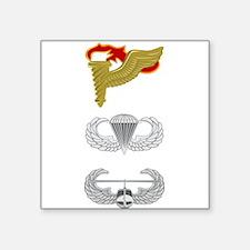 """Pathfinder Airborne Air Assault Square Sticker 3"""""""