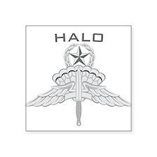 "HALO Jumpmaster Square Sticker 3"" x 3"""