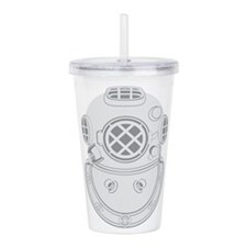 Second Class Diver Acrylic Double-wall Tumbler