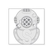 """Salvage Diver Square Sticker 3"""" x 3"""""""