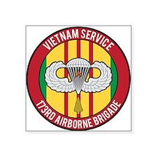 """Vietnam 173rd Airborne Square Sticker 3"""" x 3"""""""