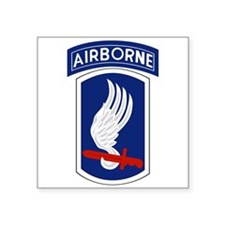 "173rd Airborne BCT Square Sticker 3"" x 3"""