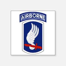 "173rd Airborne BCT Square Sticker 3"" x 3"""