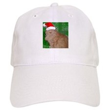 Christmas Orange Tabby Cat Baseball Cap