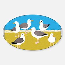 Gang of Seagulls Bumper Stickers