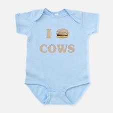 I hamburger cows Body Suit