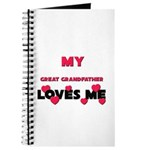 My GREAT GRANDFATHER Loves Me Journal