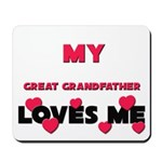 My GREAT GRANDFATHER Loves Me Mousepad
