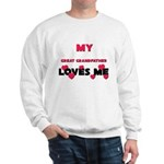 My GREAT GRANDFATHER Loves Me Sweatshirt