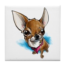 Lil' Chihuahua Tile Coaster