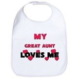 I love great aunt Cotton Bibs