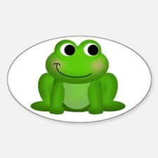 Cute Frog Decal