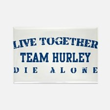 Team Hurley - Dharma Initiative Rectangle Magnet