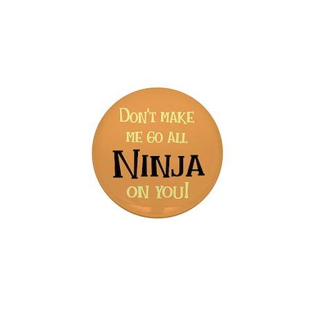 Go Ninja Mini Button