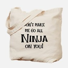 Go Ninja Tote Bag