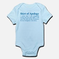 This is My Apology Shirt Body Suit