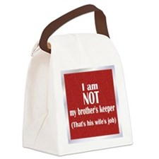 Disown Responsibility Canvas Lunch Bag