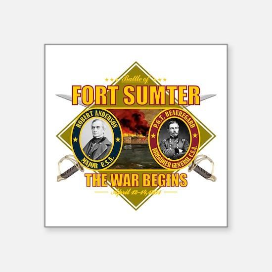 Fort Sumter Sticker