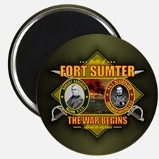 Fort Sumter Magnets