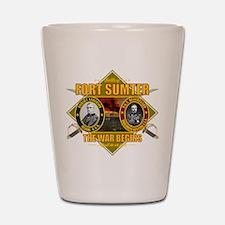 Fort Sumter Shot Glass