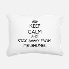 Cute Menehune souvenir Rectangular Canvas Pillow