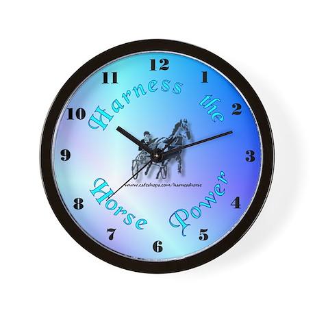 """Harness Racing"" Wall Clock"