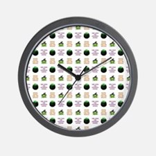 DOUBLE, DOUBLE... Wall Clock