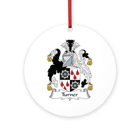 Turner Ornament (Round)