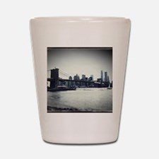 Brooklyn Bridge Shot Glass