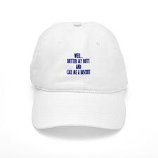 Butter My Butt (Blue) Baseball Cap