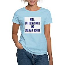 Butter My Butt (Blue) T-Shirt
