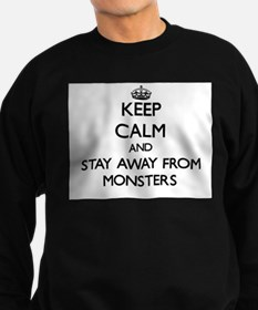 Cool Keep calm and truck on Sweatshirt