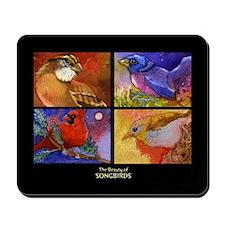 Beautiful Songbirds Mousepad